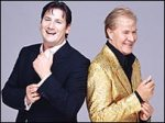 Tony Hadley and Martin Fry At The Quarry Shrewsbury